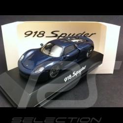 Porsche 918 Spyder bleu 1/43 Spark MAP02019515