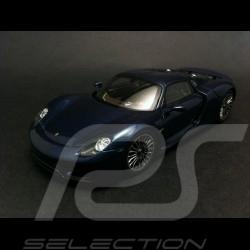 Porsche 918 Spyder blue 1/43 Spark MAP02019515