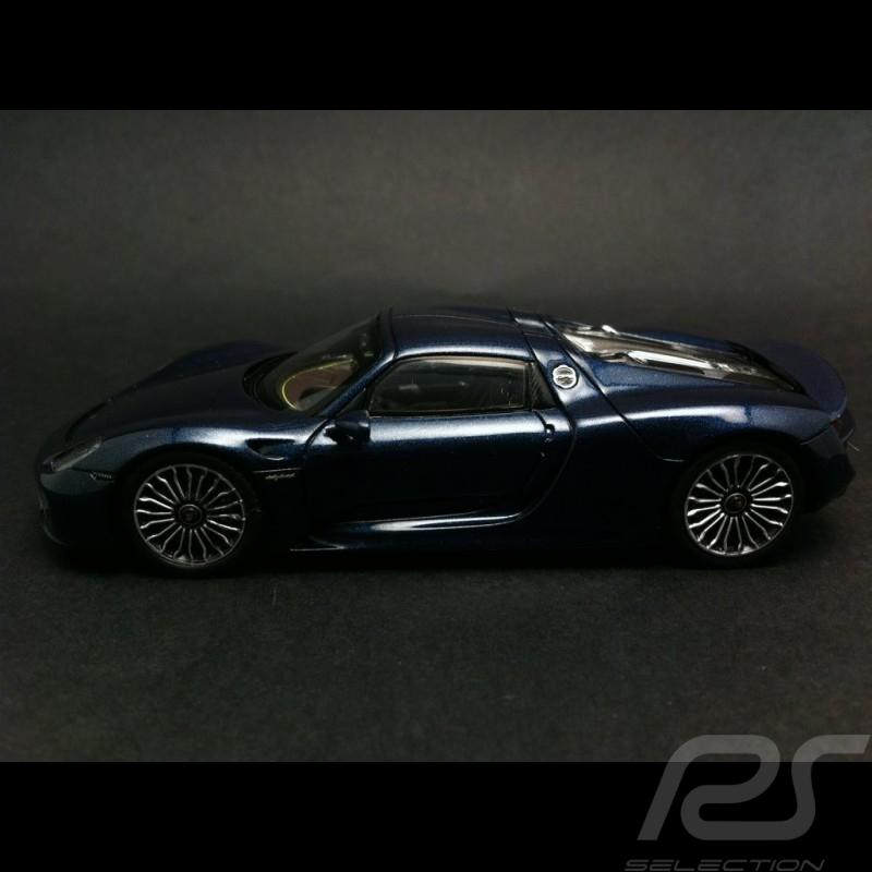 Porsche 918 Spyder Blue 1 43 Spark Map02019515