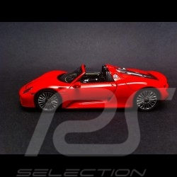 Porsche 918 Spyder rouge 1/43 Spark MAP02019415