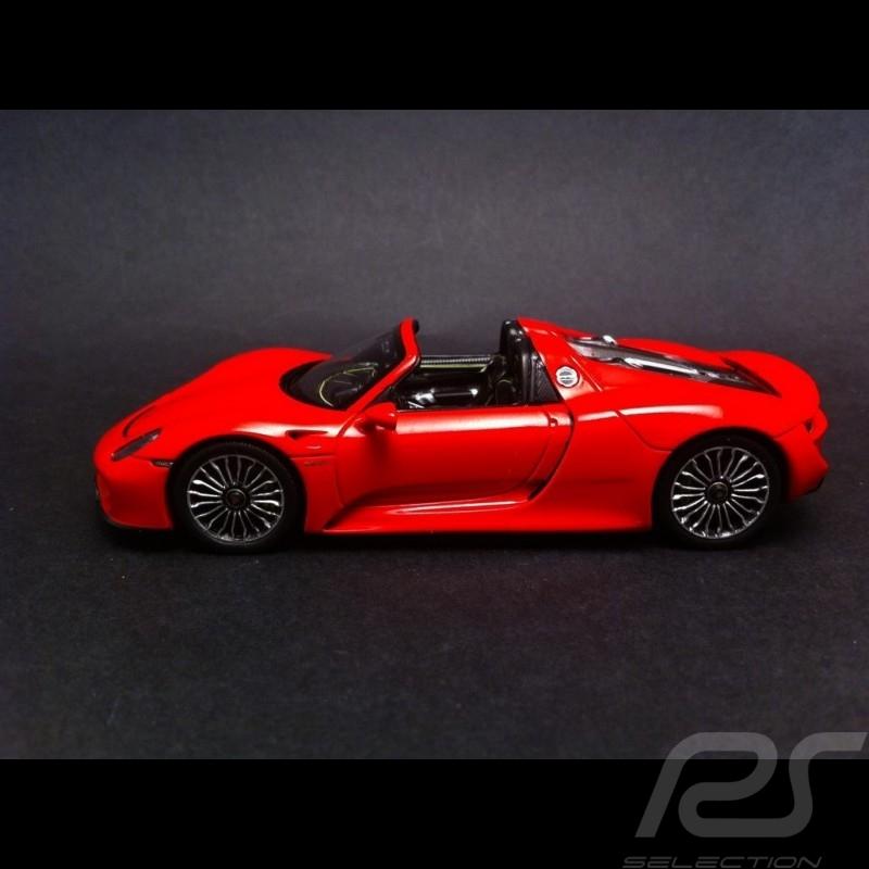 Porsche 918 Spyder rouge 1/43 Spark MAP02019415
