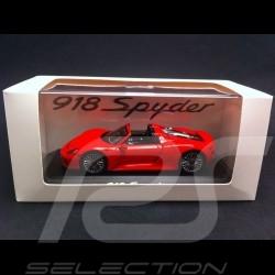 Porsche 918 Spyder rot 1/43 Spark MAP02019415