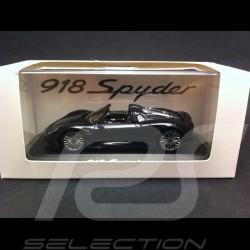 Porsche 918 Spyder schwarz 1/43 Spark MAP02019615