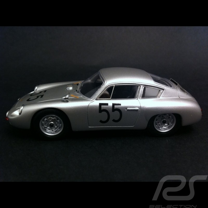 Porsche 356 B Carrera GTL Abarth n° 55 Winner Solitude 1/43 Spark MAP02020715