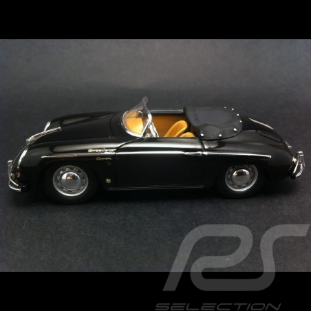 Porsche 356 A Speedster De Luxe 1958 schwarz 1/43 Spark S1359