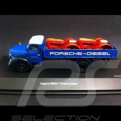 Magirus S6500 transporteur Porsche Diesel 1/43 Schuco 450316700