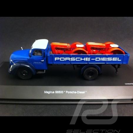 Magirus S6500 Pritsche Porsche Diesel 1/43 Schuco 450316700