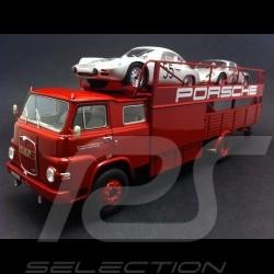 MAN Porsche Renntransporter 1/43 Schuco 450894400