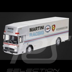 Mercedes Benz O 317 camion Porsche Martini Racing 1/18 Schuco 450032100