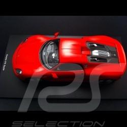 Porsche 918 Spyder 2015 rouge 1/18 Spark 18S169