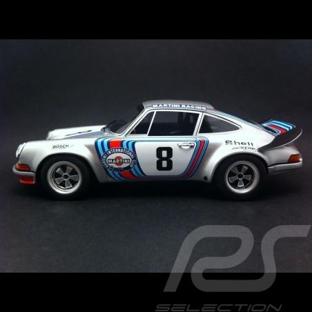 Porsche 911 Carrera RSR Martini n° 8 Targa Florio 1973 1/18 GT Spirit GT052