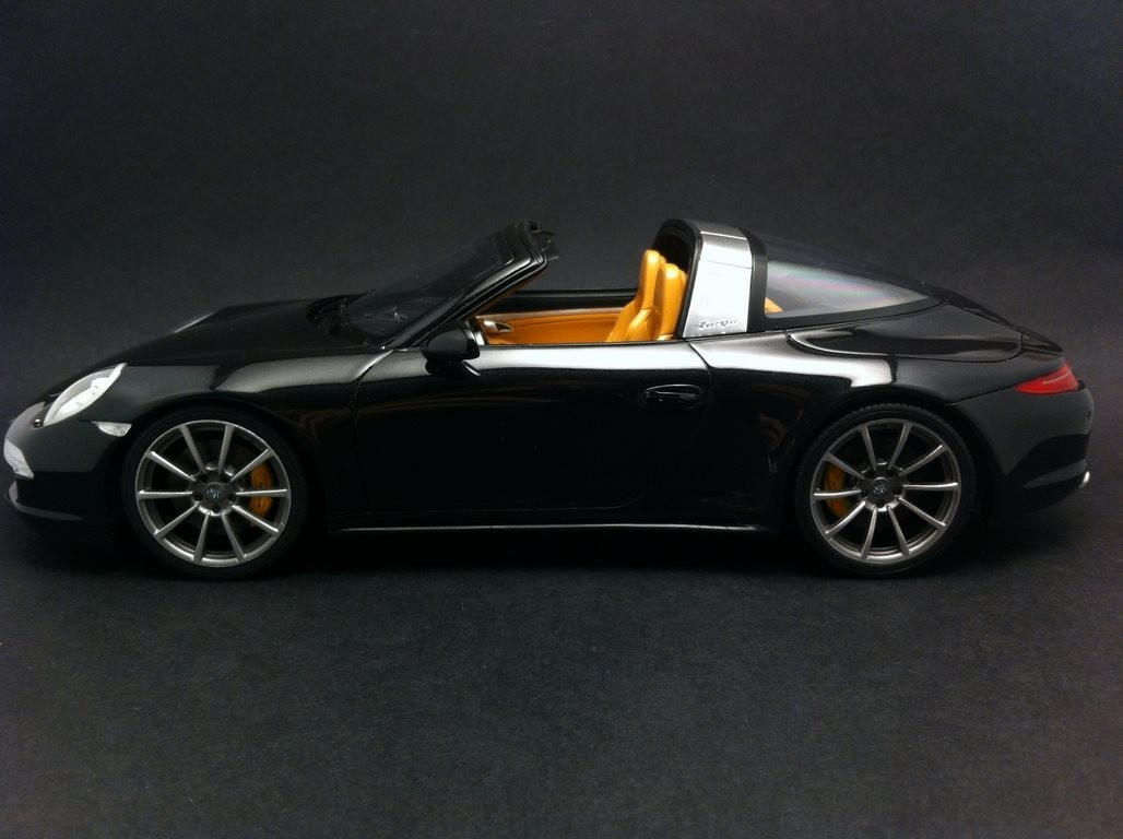 Porsche 991 Targa 4s Black 1 18 Gt Spirit Zm012 Selection Rs