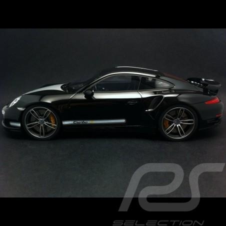 Porsche 991 Turbo S Techart schwarz 1/18 GT Spirit ZM025