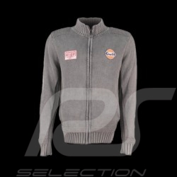 Cardigan homme Gulf Heuer gris cortina