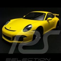 Porsche 991 GT3 2013 jaune 1/18 Minichamps 110062721