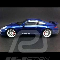 Porsche 991 Carrera 4S bleu 2014 1/18 GT SPIRIT GT032