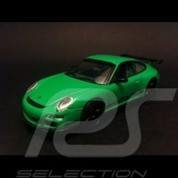 Porsche 997 GT3 RS grün 1/43 Signature 43204