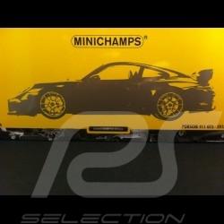 Porsche 991 GT3 2013 gelb 1/18 Minichamps 110062722