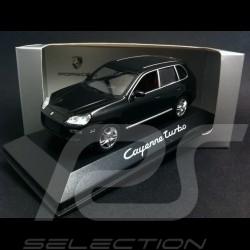 Porsche Cayenne Turbo phase 1 noir 1/43 Minichamps WAP02061117