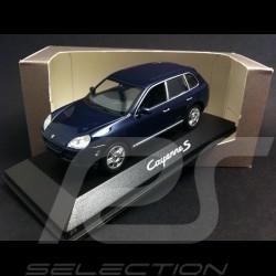 Porsche Cayenne S phase 1 bleu 1/43 Minichamps WAPC2000413