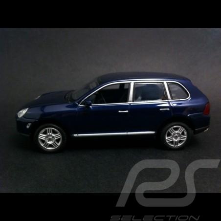 Porsche Cayenne S phase 1 blau 1/43 Minichamps WAPC2000413