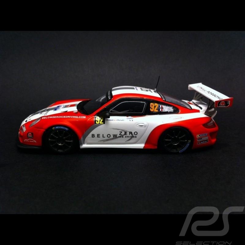 Porsche 997 GT3 Cup RGT Rallye de France 2014 N° 92 1/43 Spark SF087