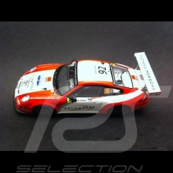 Porsche 997 GT3 Cup RGT France Rallye 2014 N° 92 1/43 Spark SF087