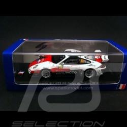 Porsche 997 GT3 RS Rallye Frankreich 2014 N° 93 1/43 Spark SF080