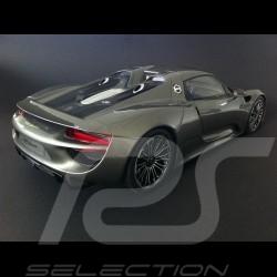 Porsche 918 Spyder grey 1/12 GT Spirit GT036