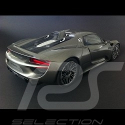 Porsche 918 Spyder gris 1/12 GT Spirit GT036