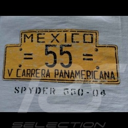 Herren T-shirt Fletcher Aviation Spyder 550 n° 55 grau