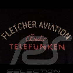 Men's T-shirt Fletcher Aviation Spyder 550 n° 55 black