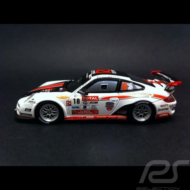 Porsche 997 GT3 RS Rallye du Var 2012 N° 18 1/43 Spark SF052