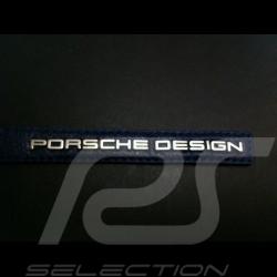 Porte-clés en cuir bleu avec logo Porsche Design leather keyring Schlüsselanhänger