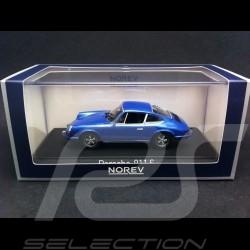 Porsche 911 S 2,4 1973 bleu 1/43 Norev 750055