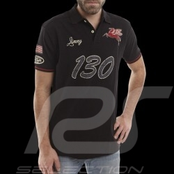 "Polo ""Little Bastard"" n° 130 noir homme men herren"