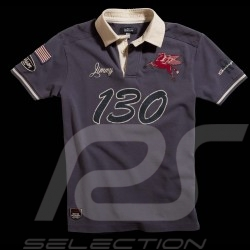 "Polo ""Little Bastard"" n° 130 gris homme men herren"