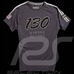 "T-shirt Porsche 550 ""Little Bastard"" n° 130 James Dean gris foncé homme"