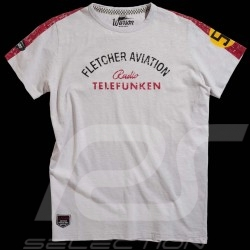 Men's T-shirt Fletcher Aviation Spyder 550 n° 55 grey