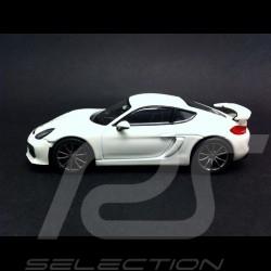 Porsche Cayman GT4 white 1/43 Schuco 450759200