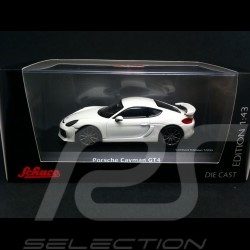 Porsche Cayman GT4 blanc 1/43 Schuco 450759200