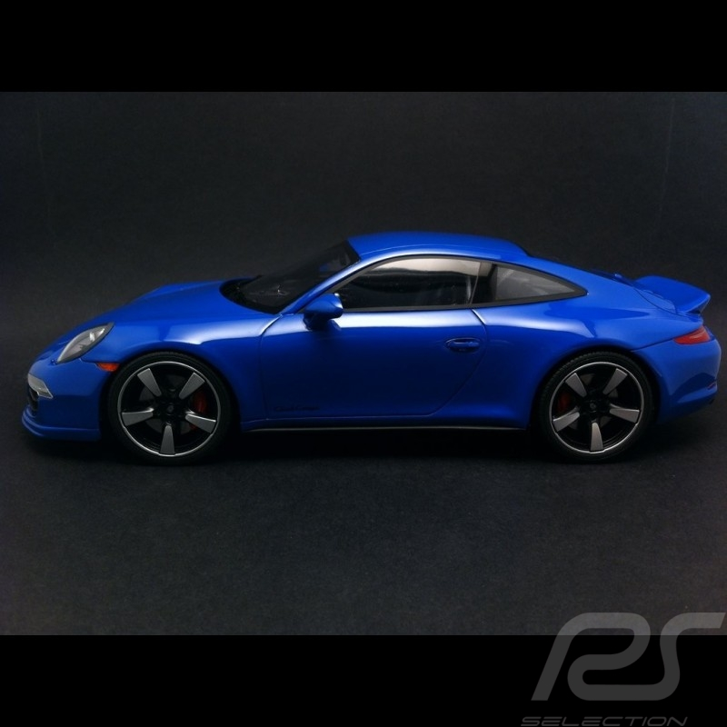 Porsche 911 type 991 Carrera GTS Club Coupe America 2015 blue 1/18 GT Spirit WAX02100006