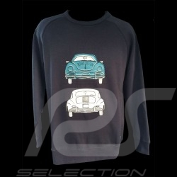 Sweat-Shirt Porsche 356 Langarm marine - Herren