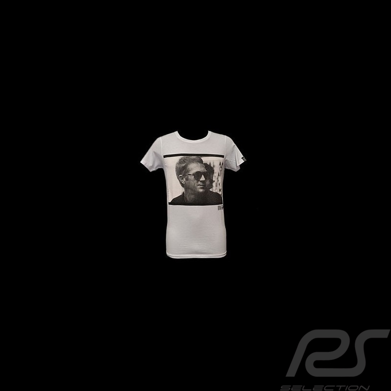t shirt steve mcqueen profile white men selection rs. Black Bedroom Furniture Sets. Home Design Ideas