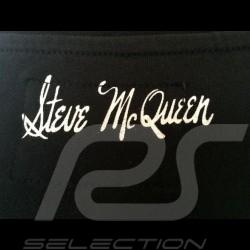 """T-Shirt Herren Steve McQueen """" Coffee """" schwarz"""