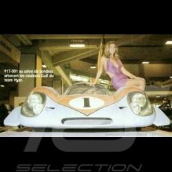 Porsche 917 LH Salon 1969 Gulf n°1 1/43 Spark S1898