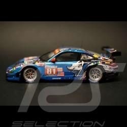 Porsche 997 GT3 RSR Le Mans 2011 Flying Lizard n° 81 1/43 Spark S3423