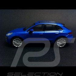 Porsche Macan Turbo 2015 bleu 1/43 Welly MAP01995015