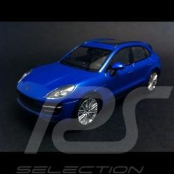 Porsche Macan Turbo 2015 blue 1/43 Welly MAP01995015