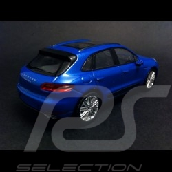 Porsche Macan Turbo 2015 blau 1/43 Welly MAP01995015